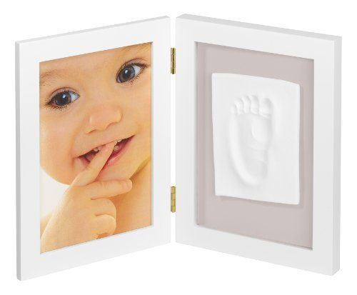 Photo frame with baby print