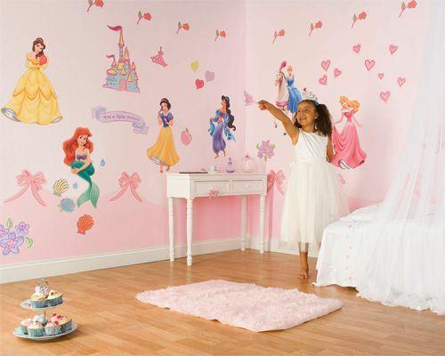 Pegatinas Para Habitaci N Princesas Disney