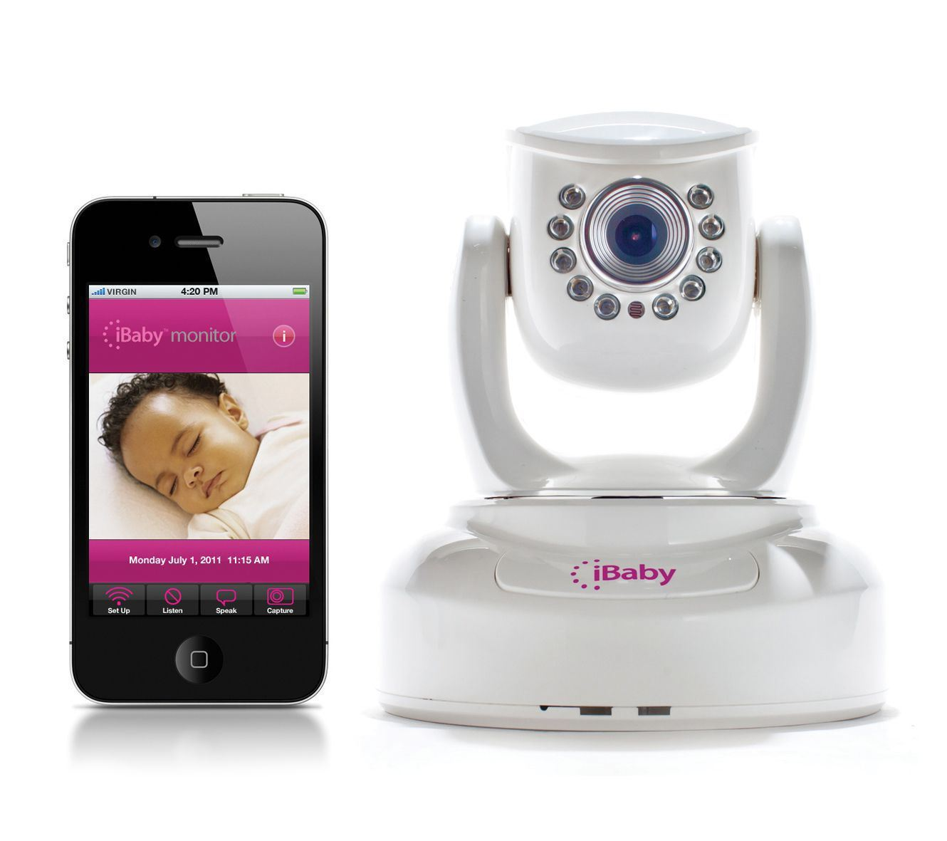 Intercomunicador Ibaby monitor