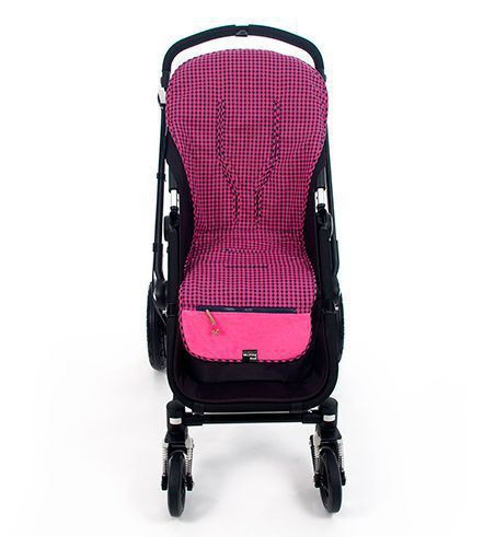 Funda silla  Happy fluor fucsia de Walking Mum