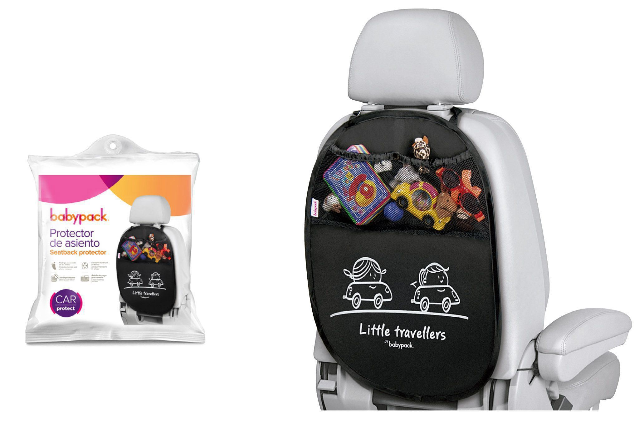 Protector de asiento Babypack
