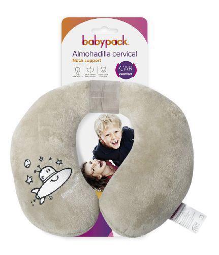 Almohada de viaje cervical babypack