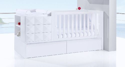 Convertible Alondra Pure Diamonds con Cama Nido