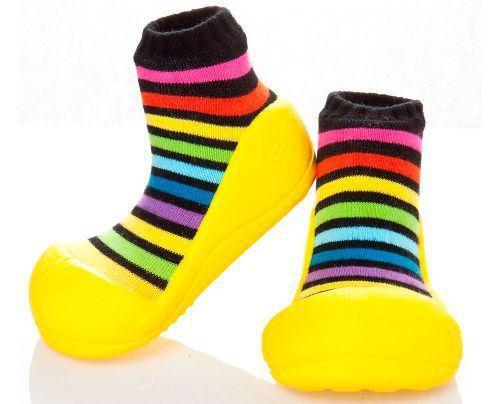 Zapatos Attipas Rainbow amarillo