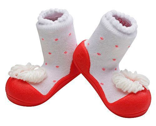 Zapatos Attipas Ribbon Roja