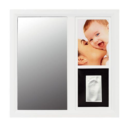 Baby art Mirror frame blanco