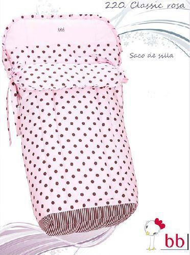 saco silla classic rosa