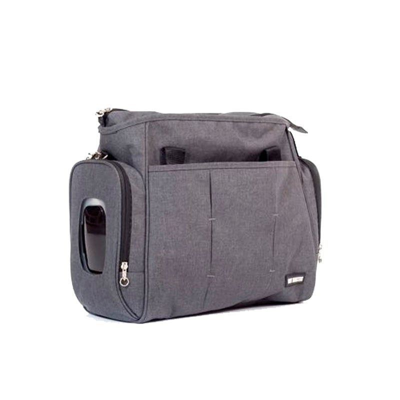 Bolso gris antracita baby monsters