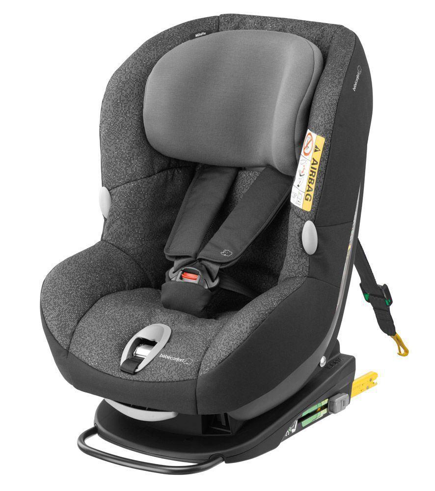Milofix modern black for Silla de bebe para coche grupo 0