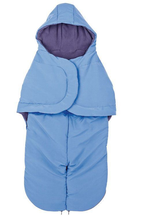 Saco silla Footmuff ,vegetal blue