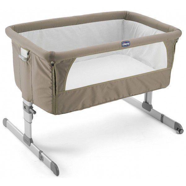 Mini cuna de colecho Next 2 Me de Chicco Dove Grey
