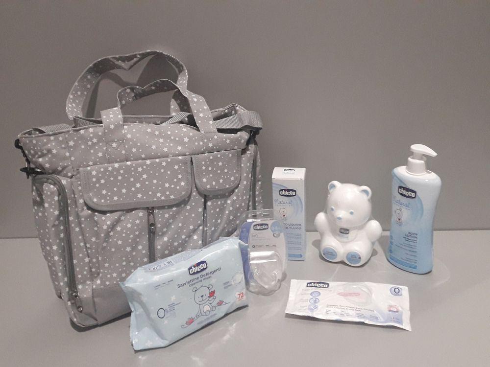 Bolsa de Maternidad de Chicco( con artículos para tu bebe)