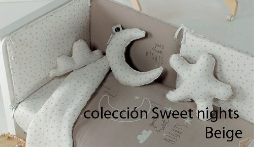 Coleccion sweet nights beige