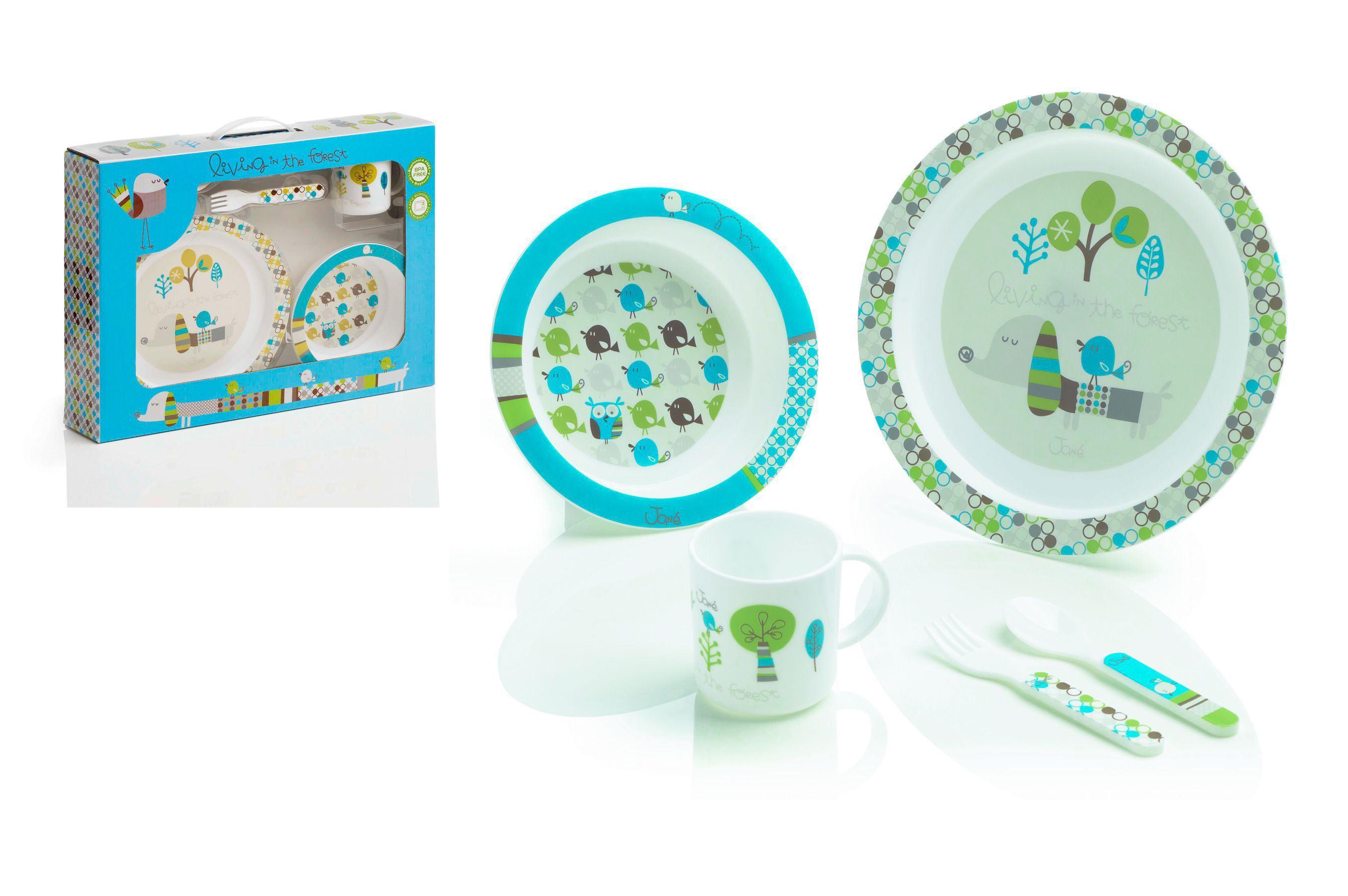 Set de vajilla para microondas 5 piezas  de Jane