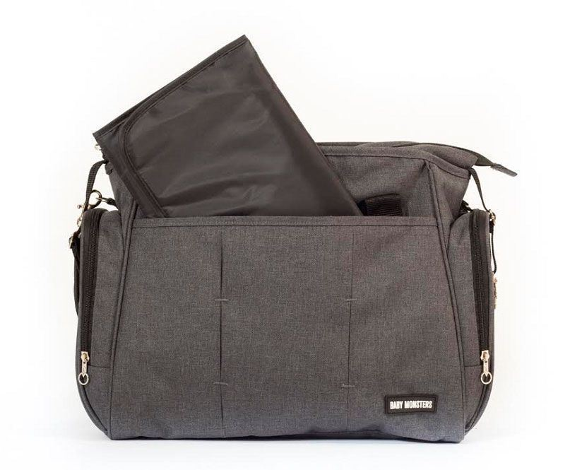 bolso easy twin gris antracita