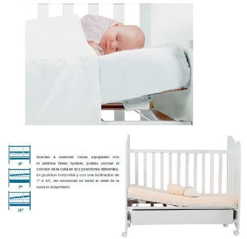 Somier inclinable cuna 120 x 60 Micuna