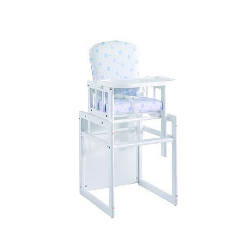 Trona Blanca convertible en mesa y silla de Micuna
