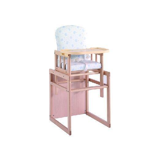 Trona Natural convertible en mesa y silla Micuna