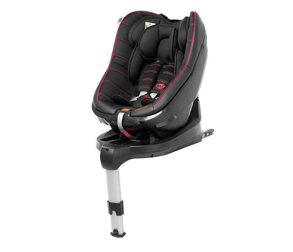 silla auto Pilot fix negra-roja