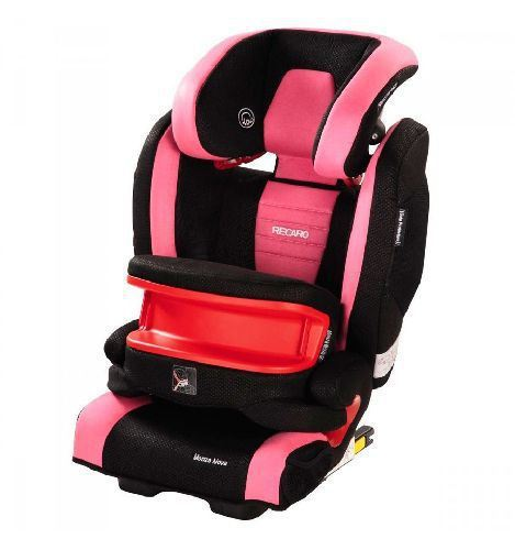 Monza nova IS seatfix de Recaro 2016 Pink