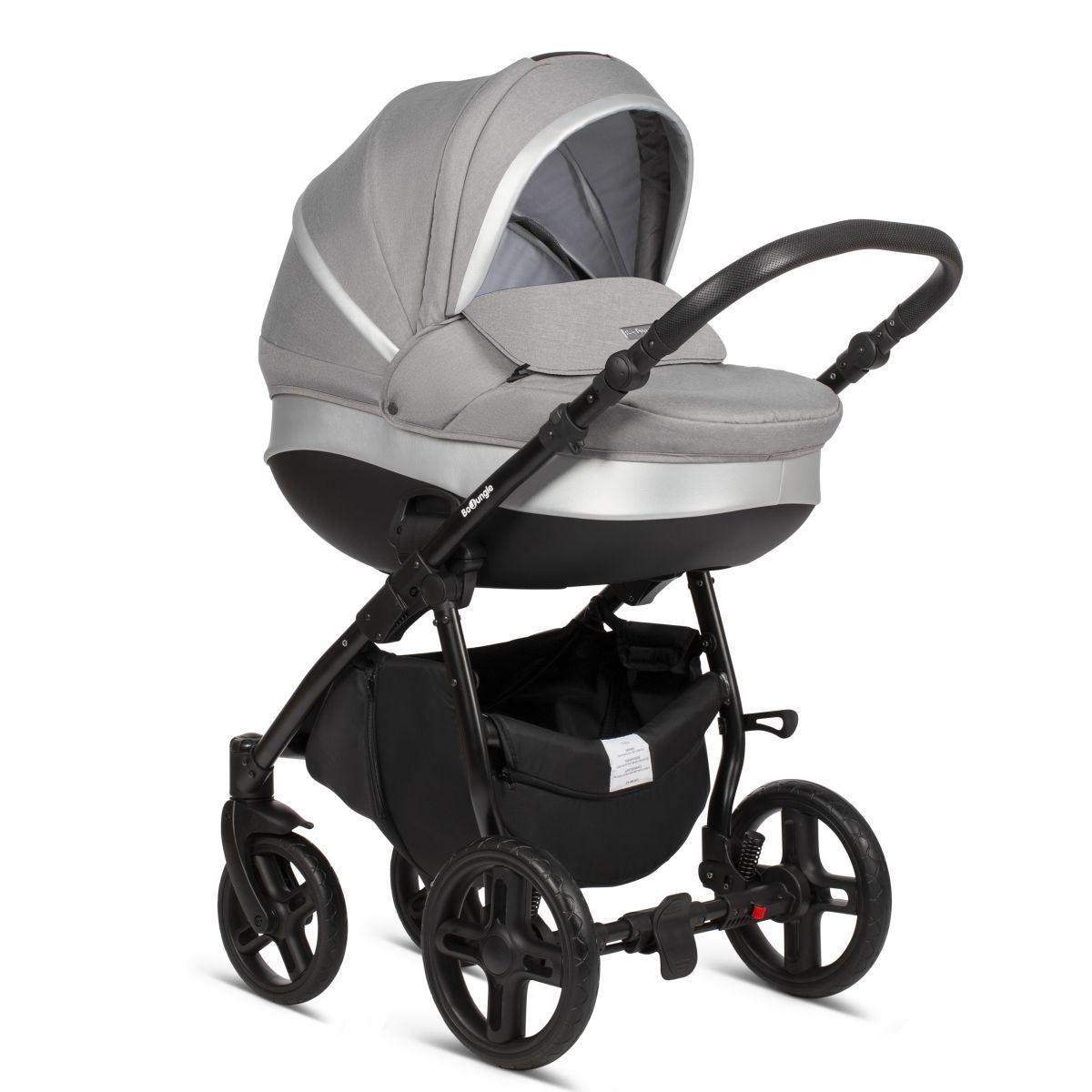 Coche bebé B Strolly gris de BoJungle
