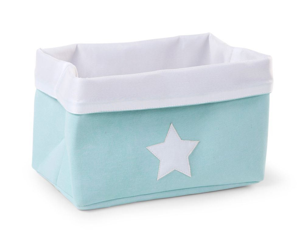 Caja Canvas rectangular Grande de Childhome