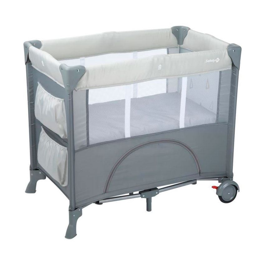 Cuna Mini Dreams Warmgray de safety