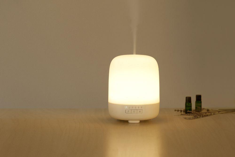 Difusor de aromas con lampara Emoi