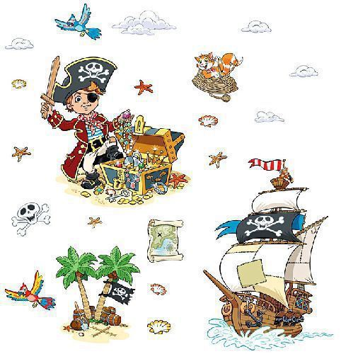 pegatinas o stickers piratas