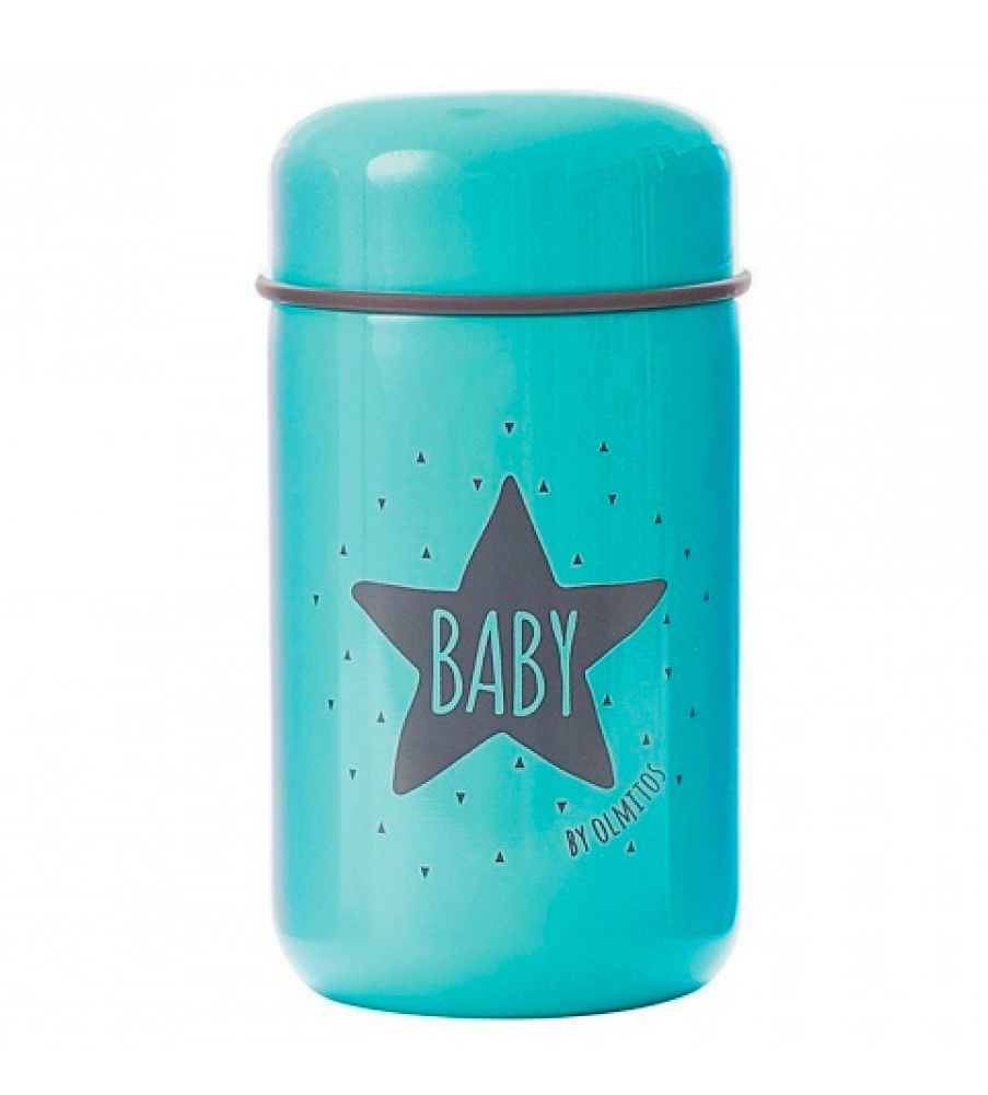 Termo Papillero Solidos+cuchara 400 ml  Olmitos Baby Star