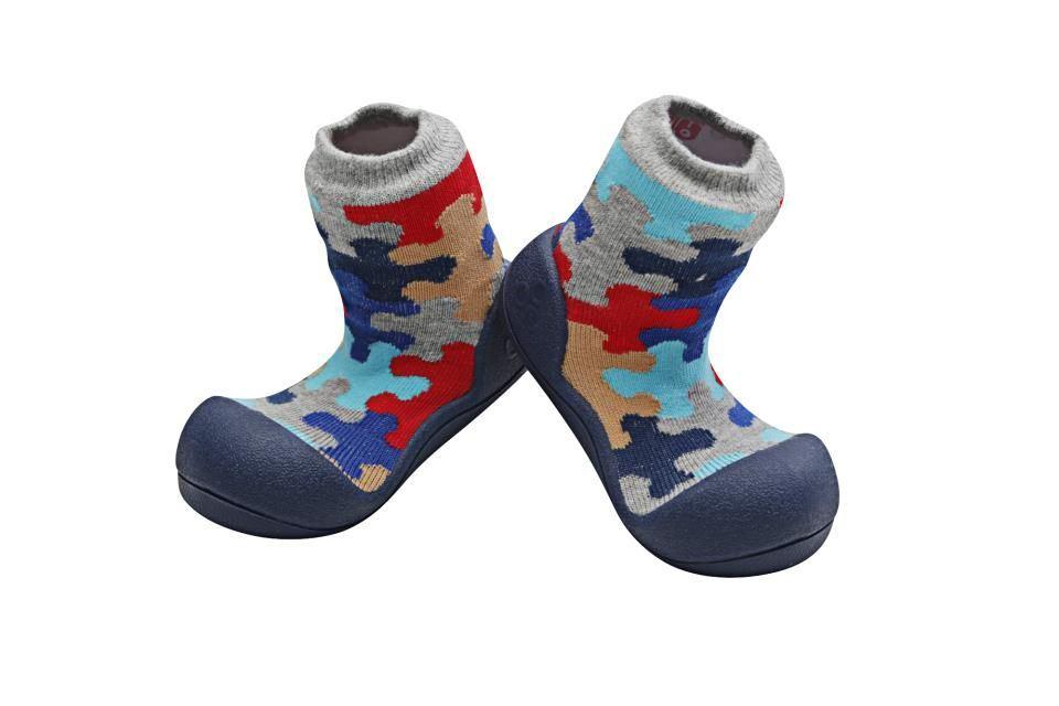 Zapatos Attipas Puzzle azul talla XL 22.5