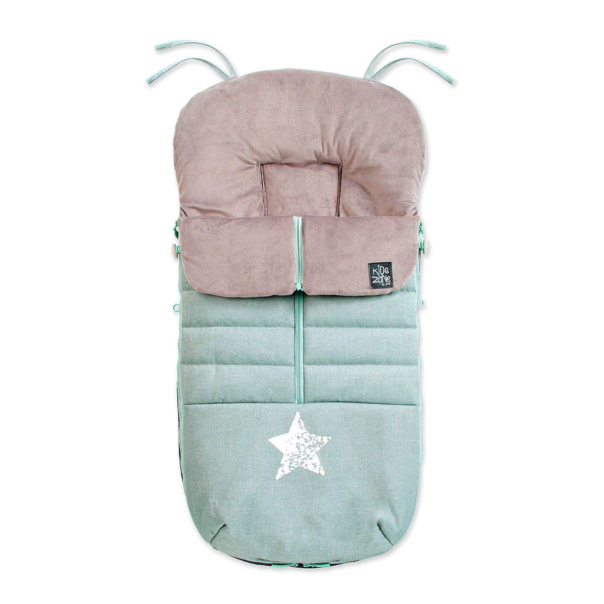 Saco Silla Nest Footmuff de Jane  Aquarel Blue
