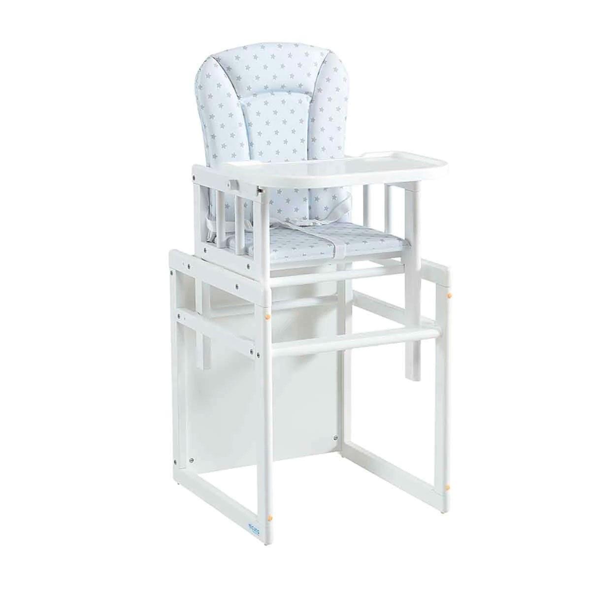 Trona convertible en mesa y silla con tapizado de Micuna