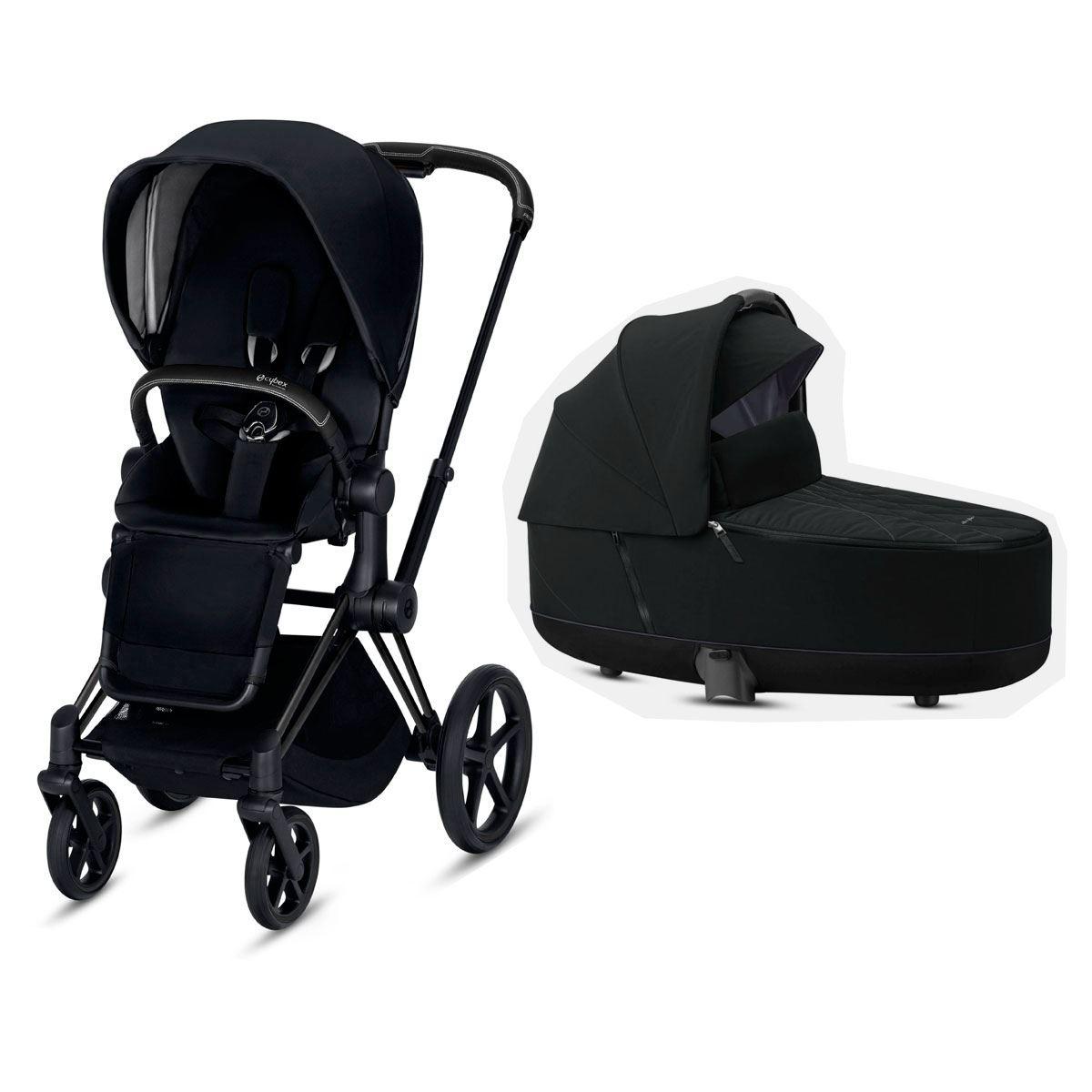 Duo Cybex Priam con silla Lux Premiun Black