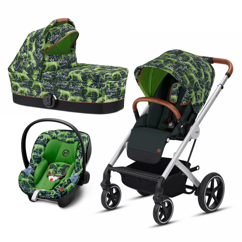 Cybex Balios S 3 piezas Respect Green