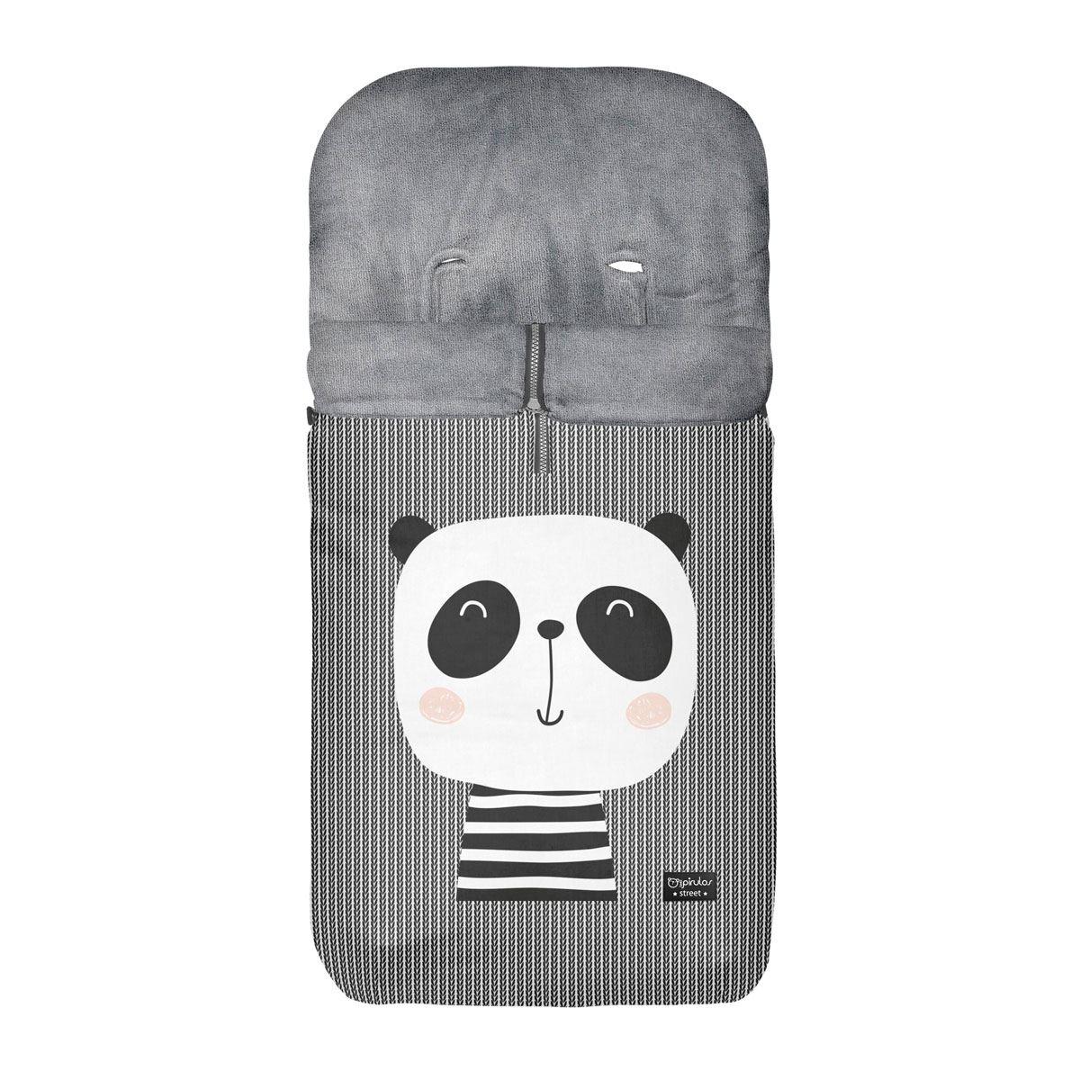 Saco Silla polar Oso Panda  Bimbipirulos