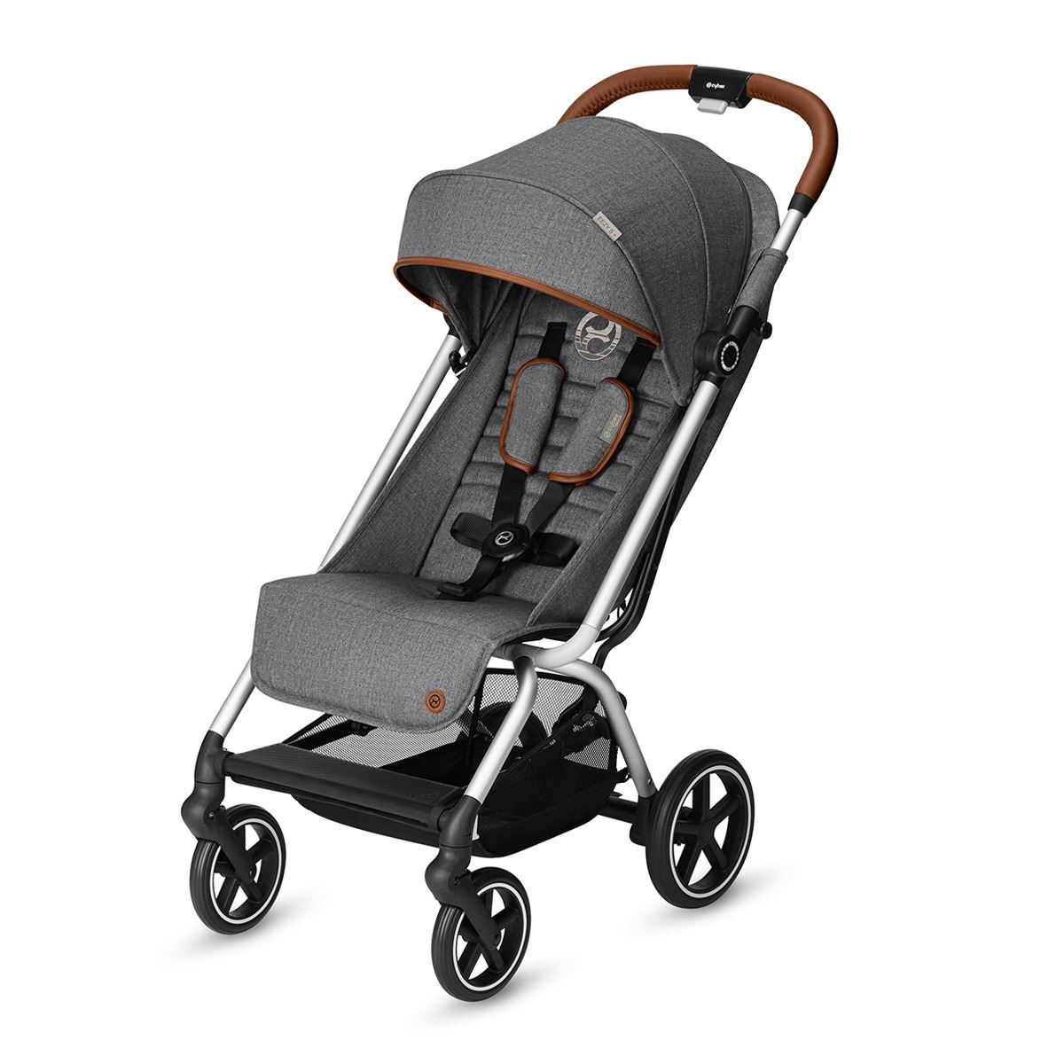 Cybex Eezy S+ Denim Edition Manhattan Grey