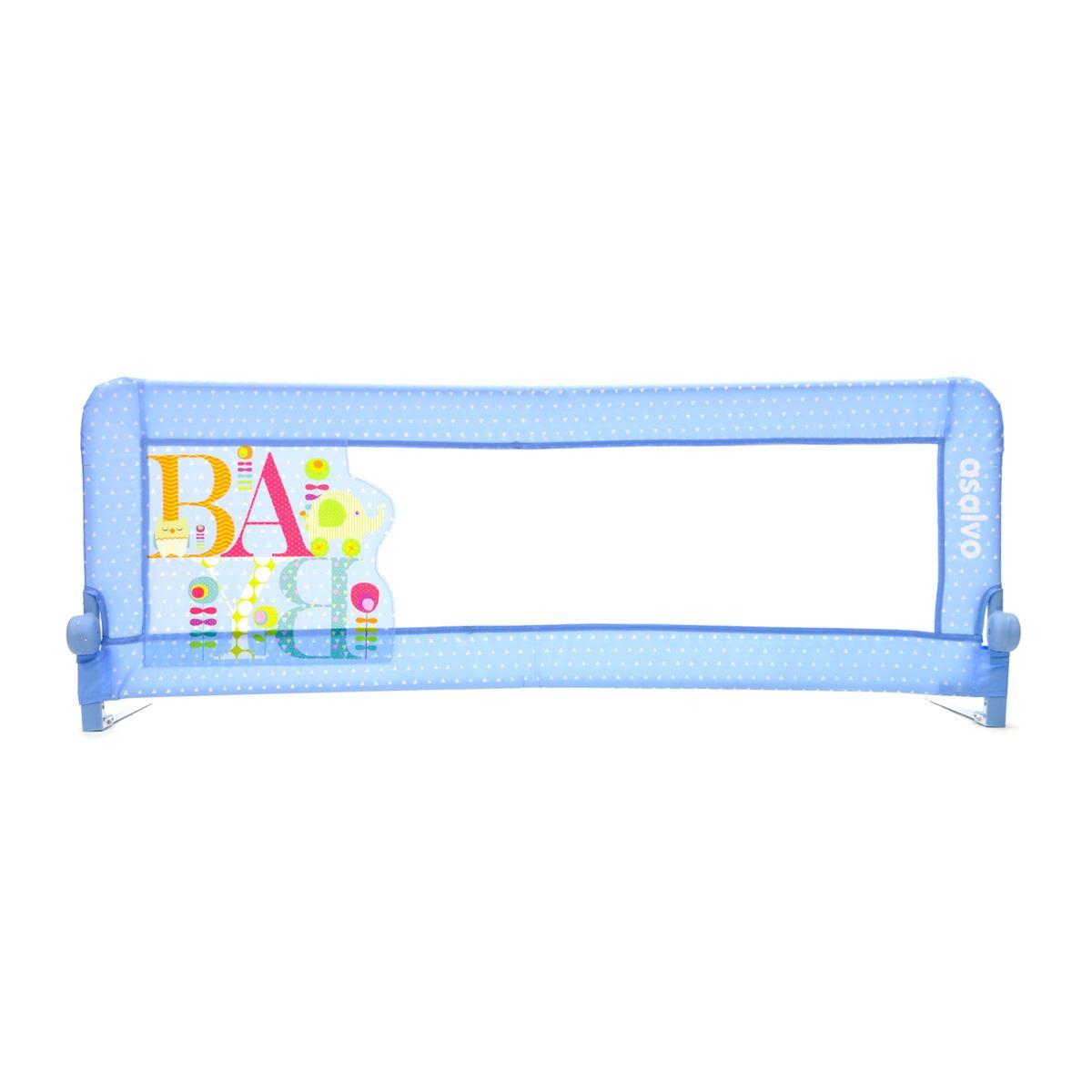Barrera de Cama 2 en 1 Baby Azul de Asalvo
