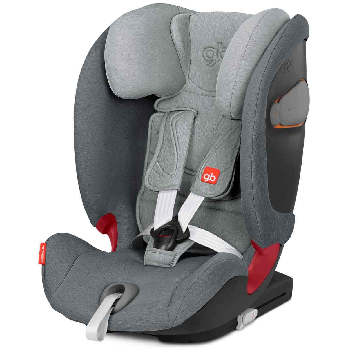 Silla de coche GB Everna fix London Grey
