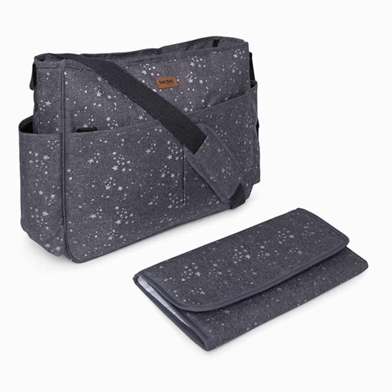 Bolso silla Gemelar weekend constellation gris tuc tuc