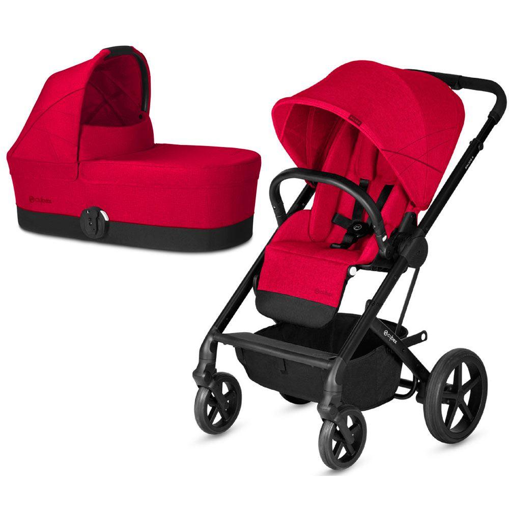 Cochecito de Bebé Balios S duo Rebel Red