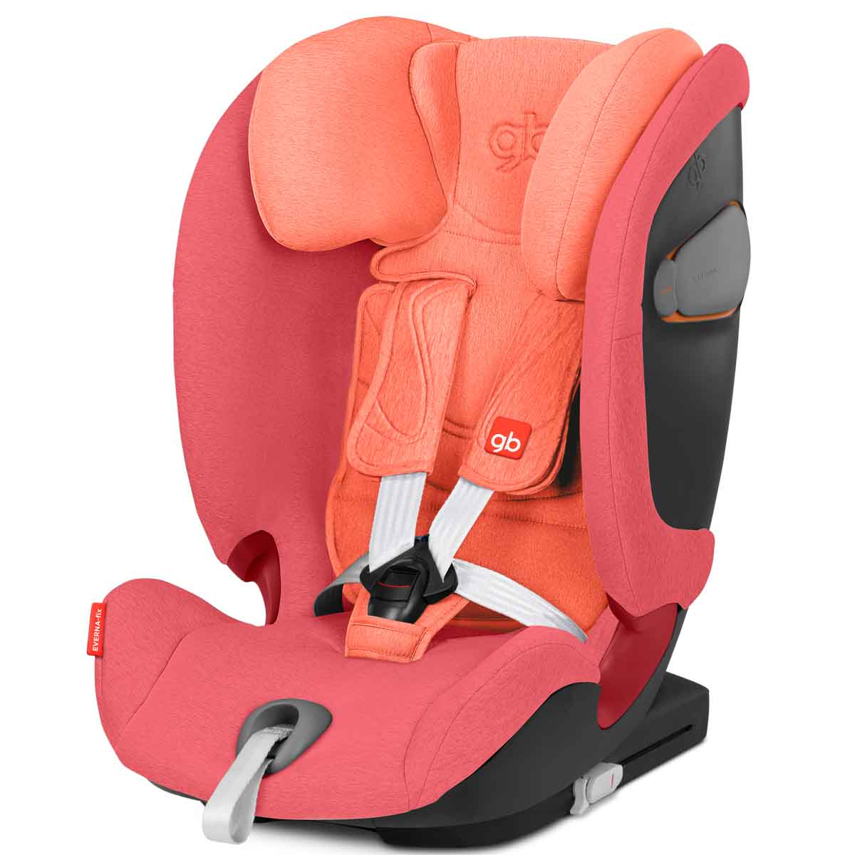 Silla de coche GB Everna fix Rose Red