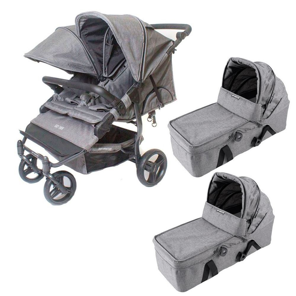 coche gemelar Easy Twin Texas Baby Monster