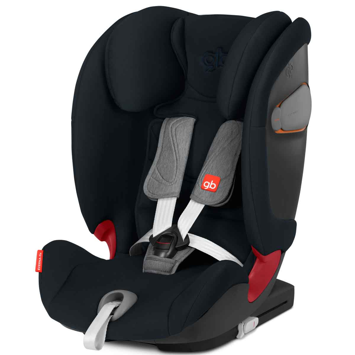 Silla de coche GB Everna fix Velvet Black
