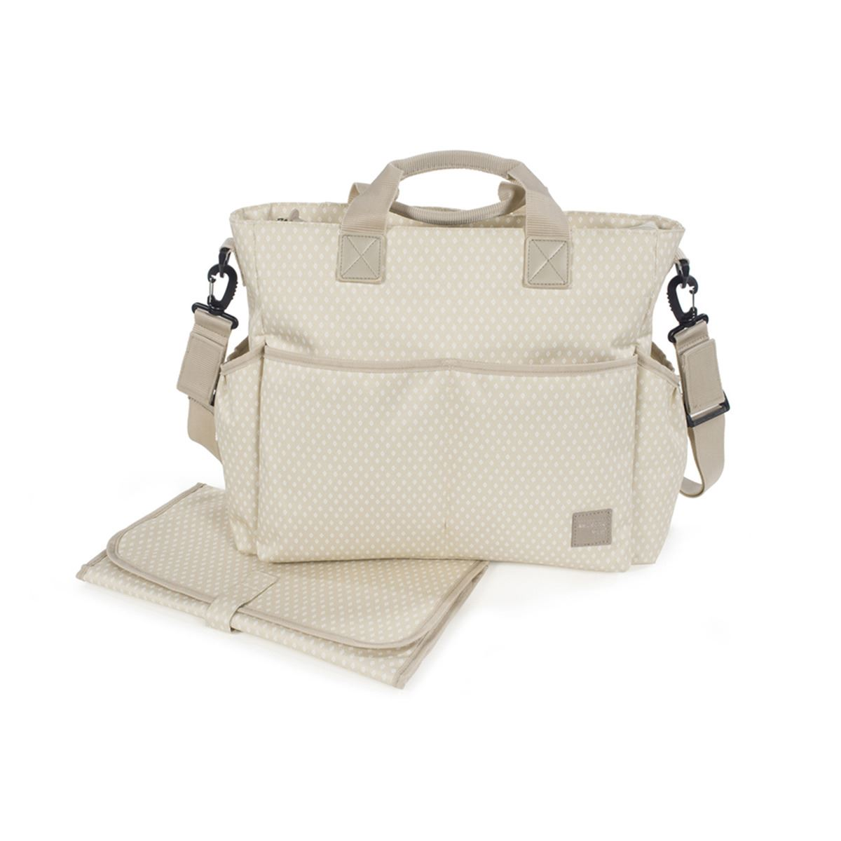 Bolso Cambiador Happy chic beige Walking Mum