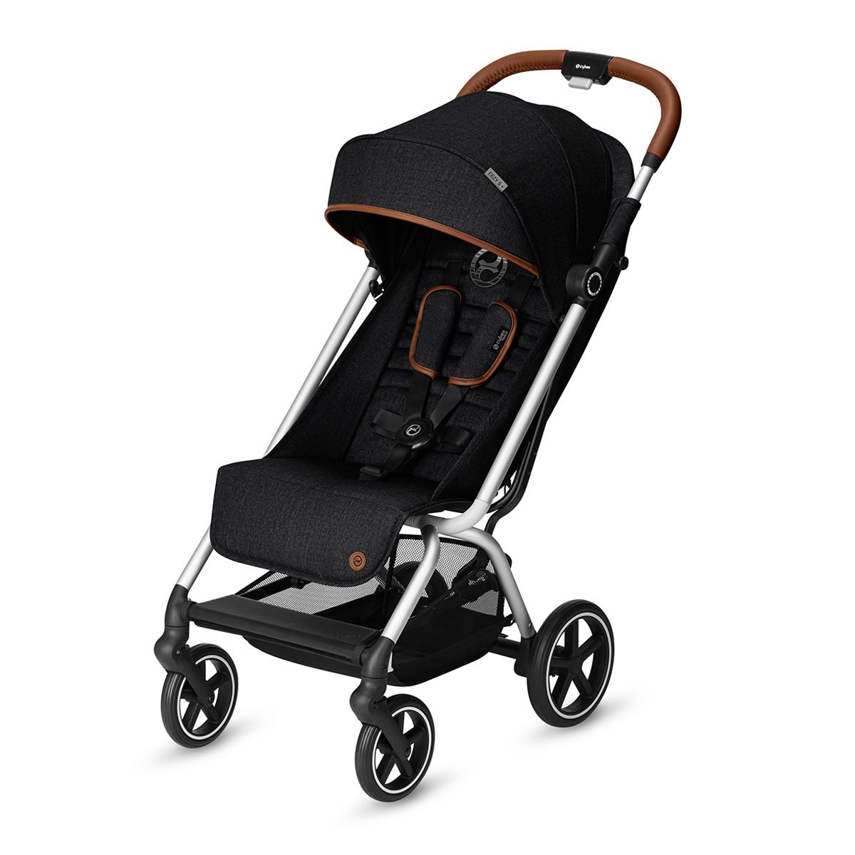 Cybex Eezy S+ Denim Edition Lavastone Black