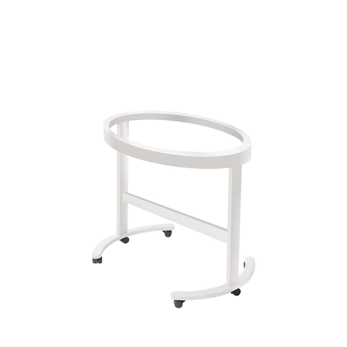 Estructura ovalada para minicuna Smart blanca de Micuna