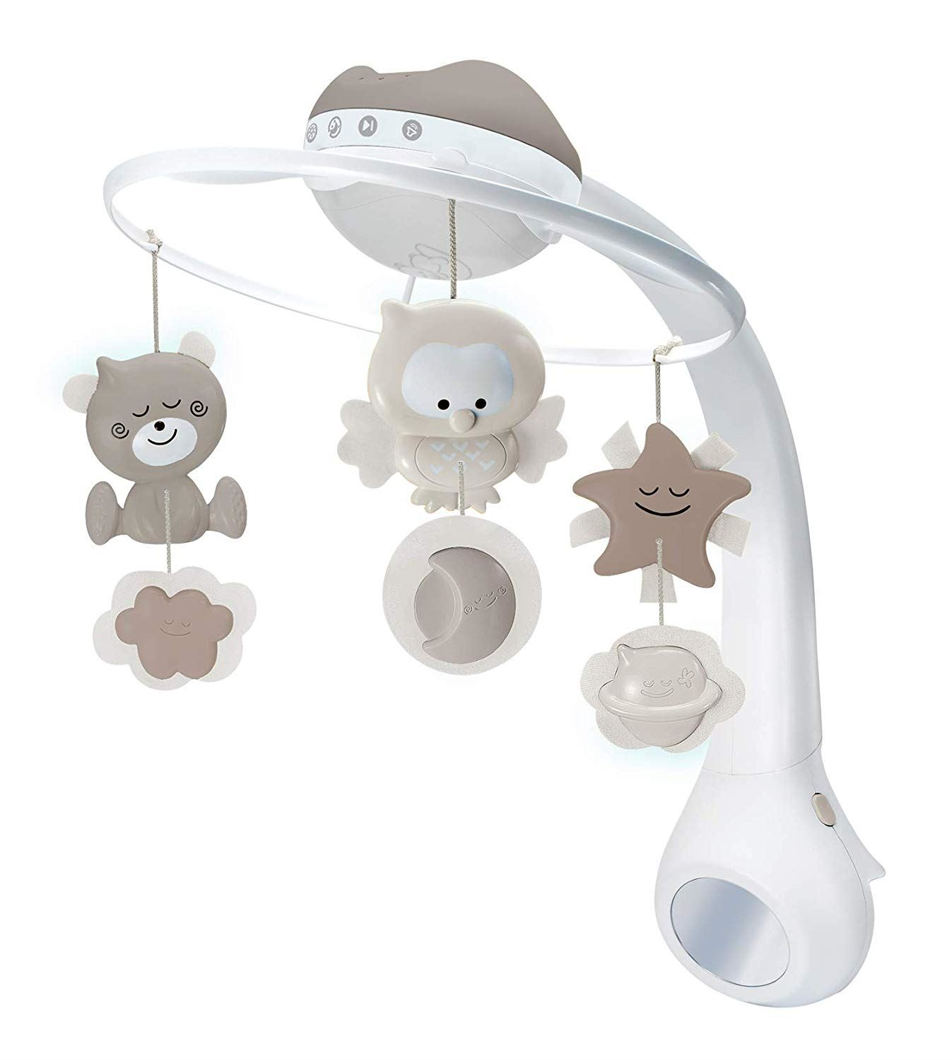 Projector Musical mobile 3 en 1 Taupe de Infantino