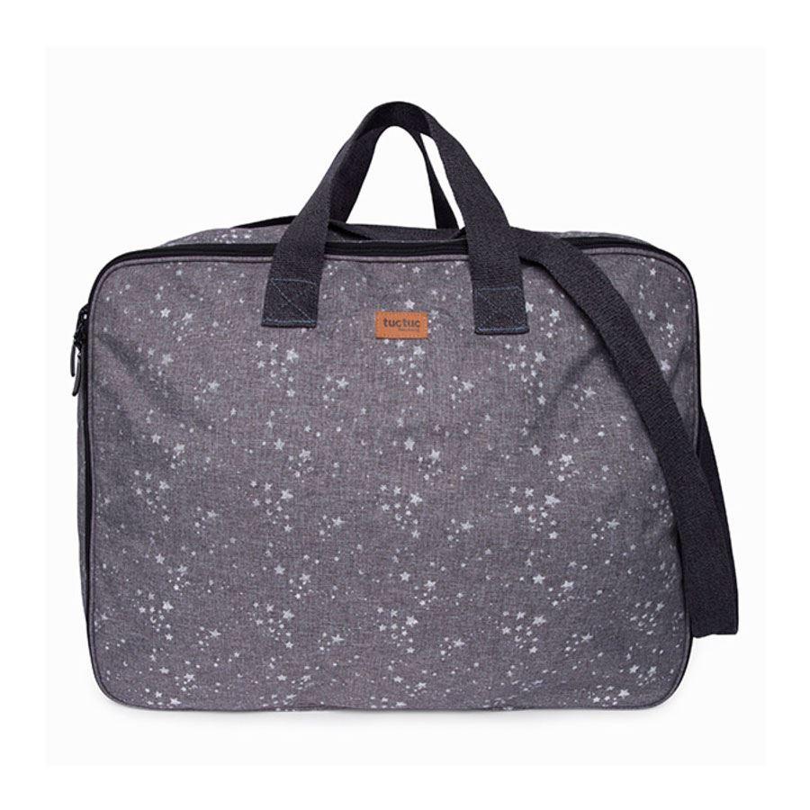 Maleta de viaje Pop up weekend constellation gris