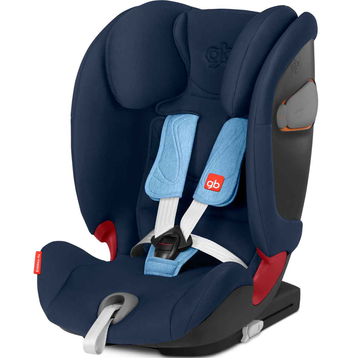 Silla de coche GB Everna fix Night Blue